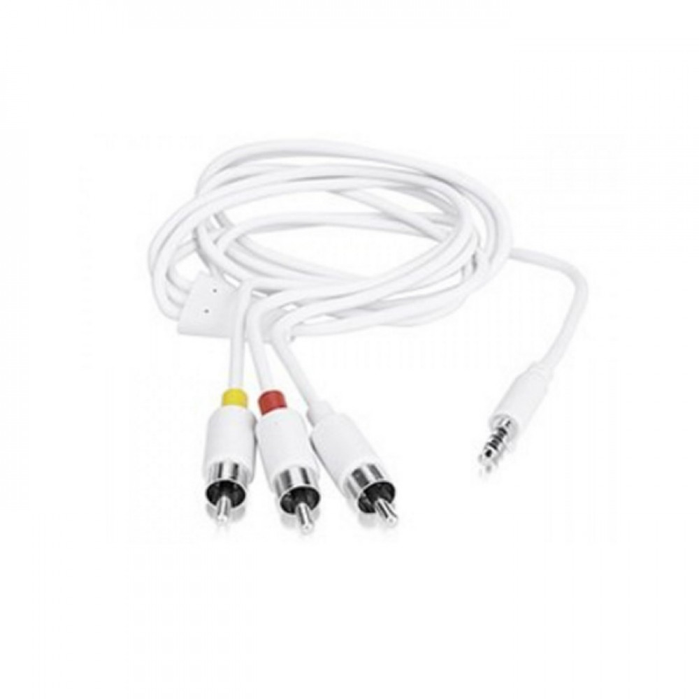 apple ipod av cable - video    audio cable