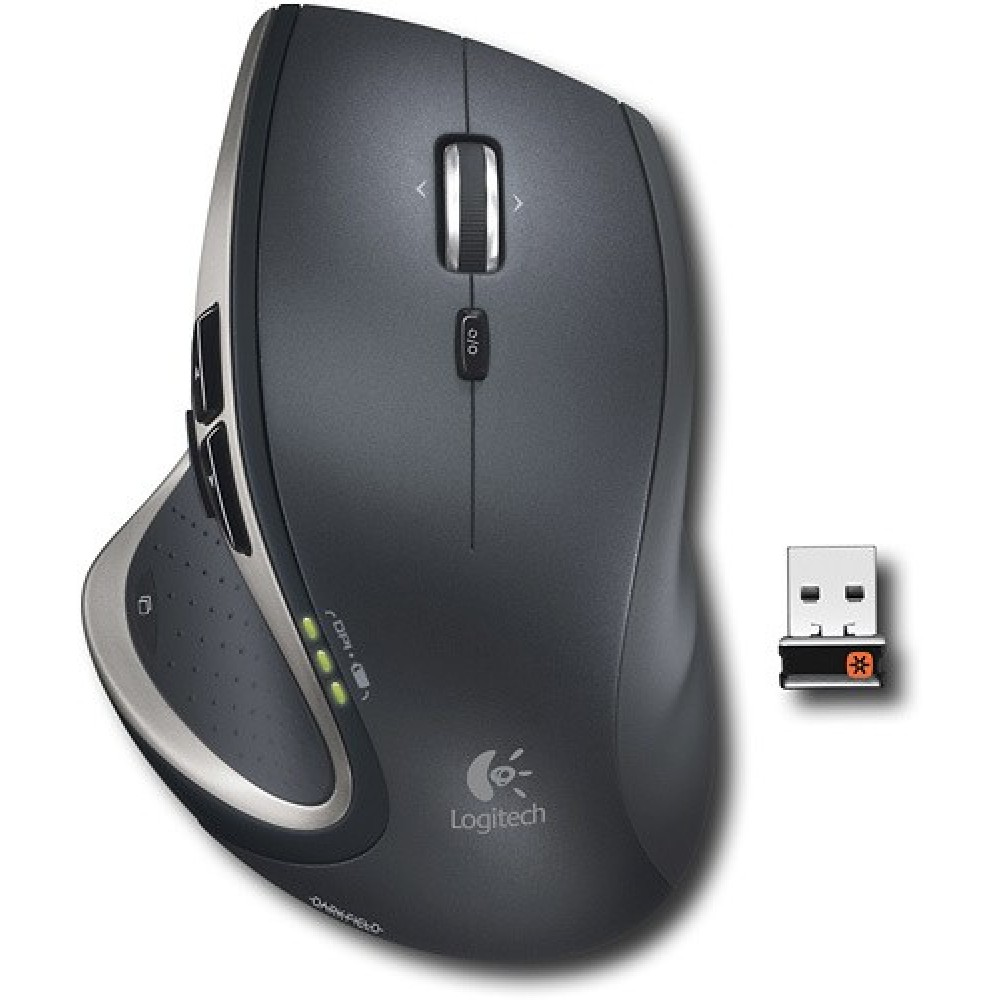 how to connect logitech wireless mouse to mac