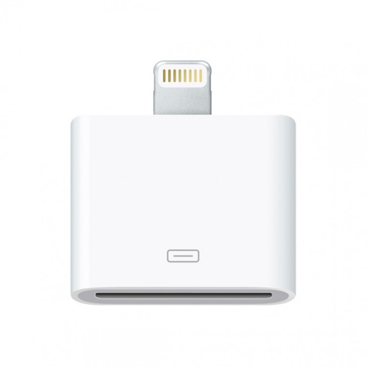 Apple Lightning to 30-pin Adapter, White