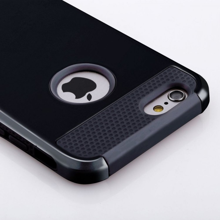 iPhone 6/6s Heavy Duty Shockproof Hard Rubber Cover