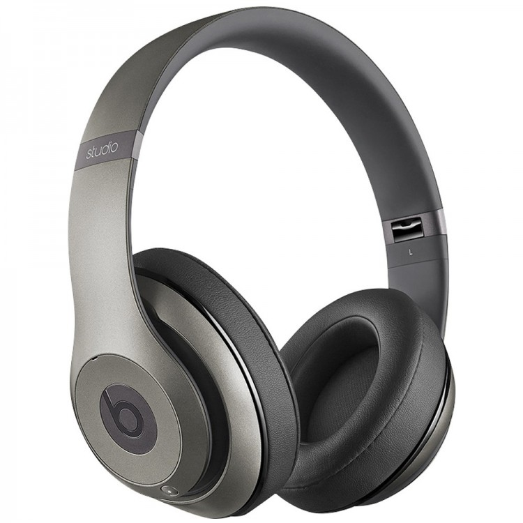 Beats by Dr. Dre Studio Wireless Headphones - Titanium