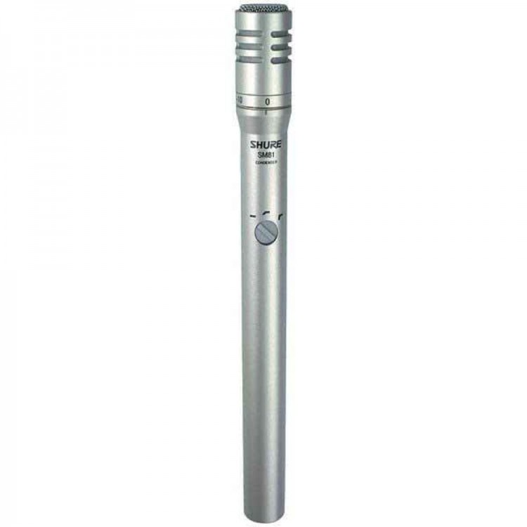 Shure SM81-LC studio microphone - USED