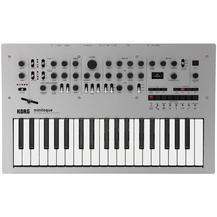 Korg Minilogue 37 Keys Polyphonic Analog Keyboard Synthesizer Lightly - USED