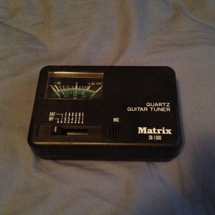 Matrix SR1000 Guitar Tuner - USED