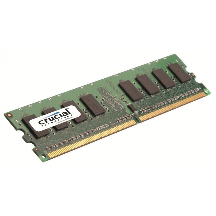 Crucial / 1GB / 240-pin DIMM / DDR2 PC2-5300 / Desktop Memory