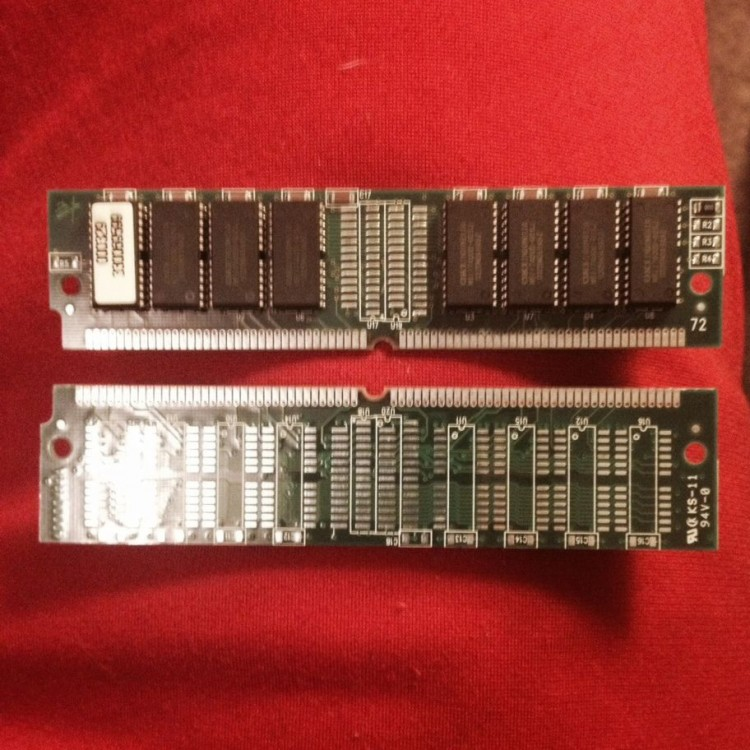 Memory for Akai MPC 2000 (11mb x 2) 22mb RAM