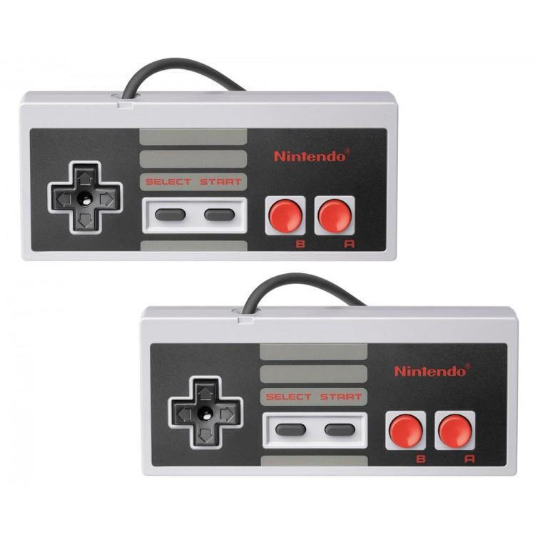 Nintendo (NES) Original controllers (Pair) NES-004 - USED