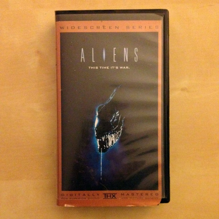 Aliens - Widescreen THX version - VHS - USED