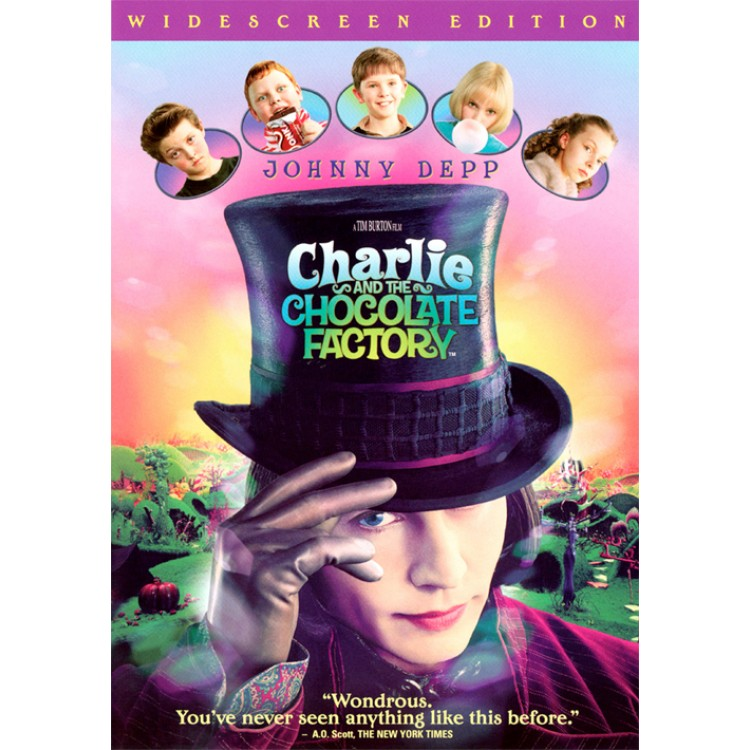 Charlie and the Chocolate Factory 2005 - DVD