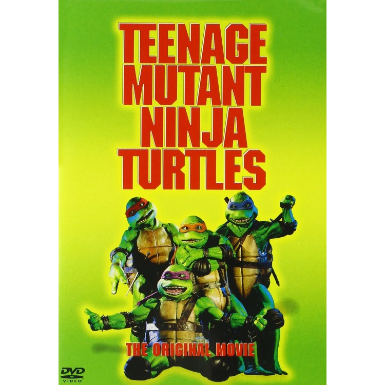 Teenage Mutant Ninja Turtles 1990 - DVD